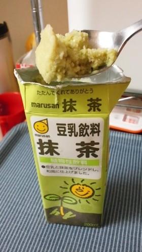 チョー簡単!豆乳アイス
