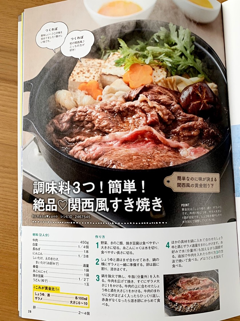 調味料3つ!簡単!絶品♡関西風すき焼き