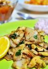 トルコ料理☆ヒラタケの簡単ソテー