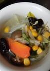 簡単に出来る野菜スープ