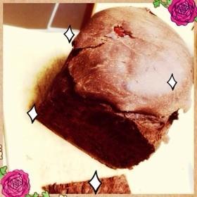 デビルケーキ風♡お豆腐+ココアのパン