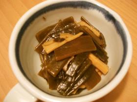 茎わかめと筍の煮物