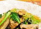 ビタミンたっぷり❢小松菜と春雨の炒め物