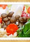 生姜鍋 お野菜たっぷり
