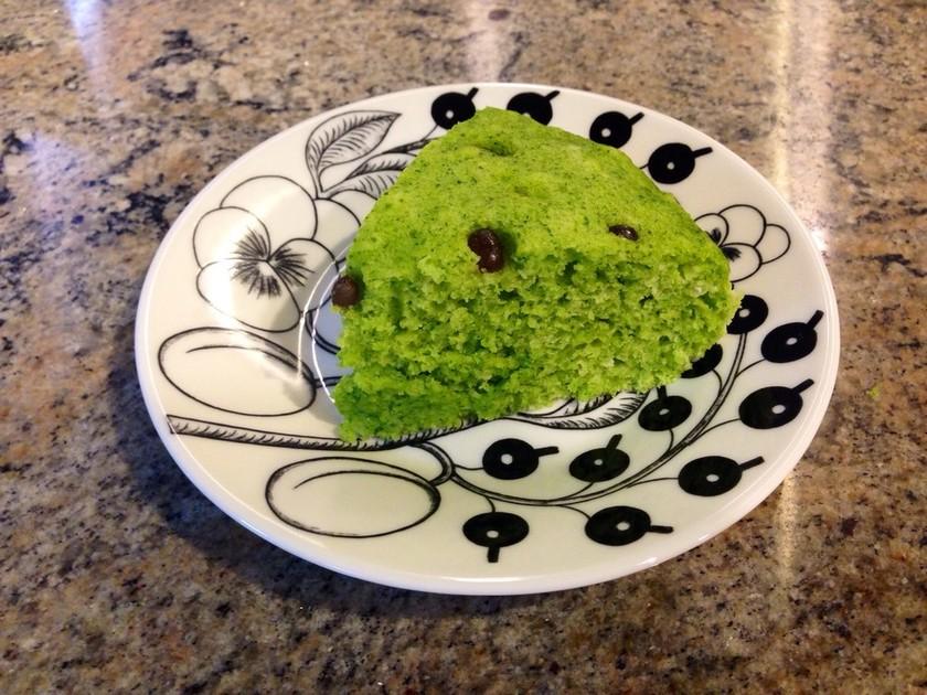 野菜嫌いでも大丈夫♡小松菜の蒸しケーキ♡