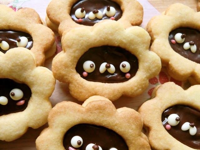 ガナッシュサンドクッキーdeライオンさん