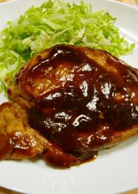 ★塩麹で柔らか鶏のむね肉のステーキです♪