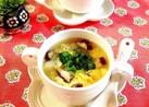 風邪気味の娘に♡長芋生姜スープ