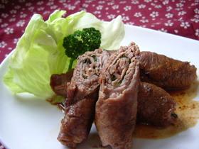 ご飯がすすむ☆シソ巻き牛肉