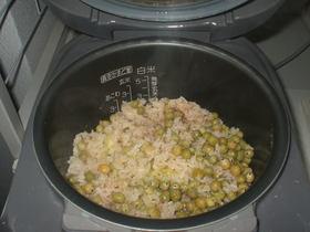 エンドウ豆ご飯