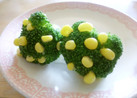 *ブロッコリーとコーンで菜の花☆キャラ弁