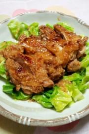 鶏もも肉の味噌ダレ焼きの写真