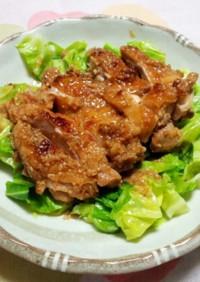 鶏もも肉の味噌ダレ焼き