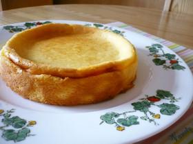 少しヘルシーに簡単ベイクドチーズケーキ