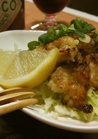 塩ヨーグルト&タバスコ漬!辛旨鶏モモ焼♬