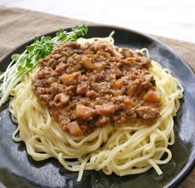 お家の味噌で簡単ジャージャー麺or丼
