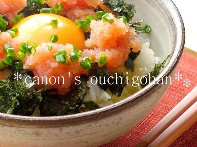 たらこ レシピ
