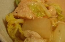即席!鶏と白菜のトロトロ煮
