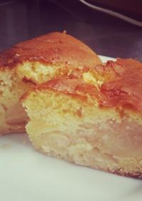 リンゴがクリーミー☆魔法パウンドケーキ