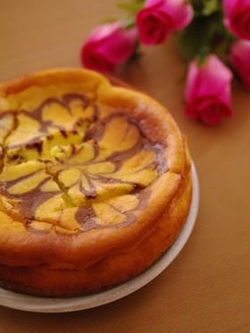 HMで簡単濃厚チーズケーキ☆バレンタイン
