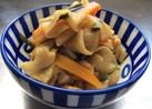 ピリ辛甘酢の切り干し大根の煮物