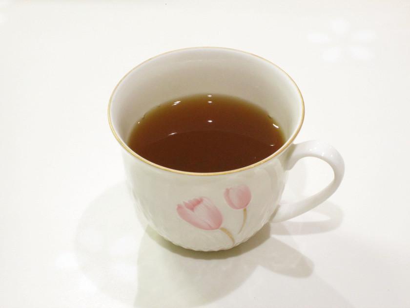 黒糖入り生姜紅茶でポッカポカ