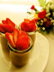 ショコラフレーズ♡ブラマンジェの写真