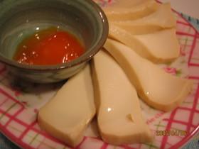 黄身と豆腐の味噌漬け