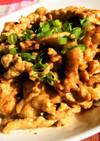 豚肉のマヨにんにく醤油焼き♬簡単