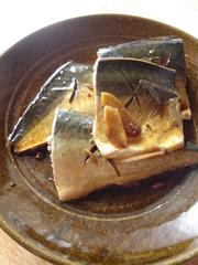 さばの煮付け 定番和食の写真