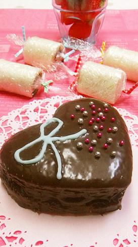 食パンでケーキみたい♡チョコサンド♡