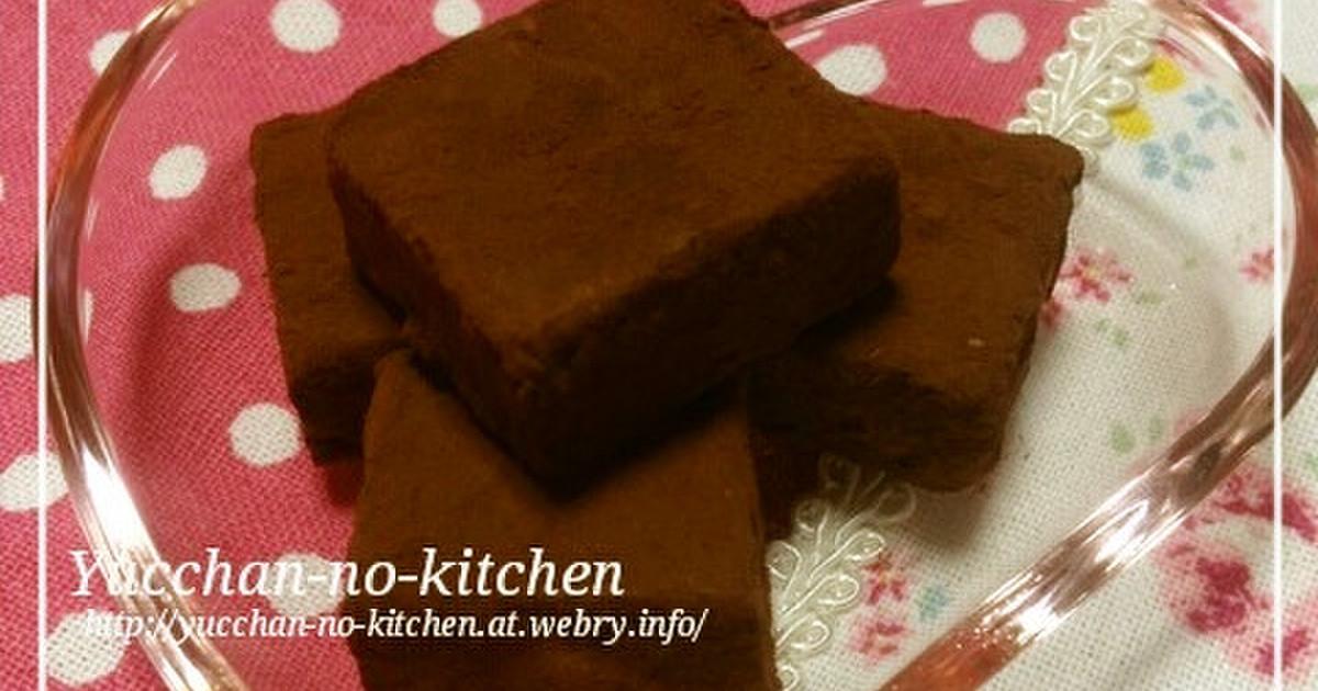 超 簡単 チョコレート レシピ チョコレートのレシピ・作り方 【簡単人気ランキング】 楽天レシピ