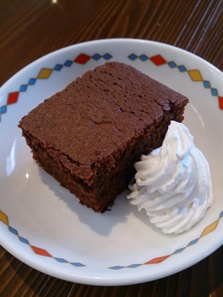 あっさりなのに濃厚~塩チョコケーキ