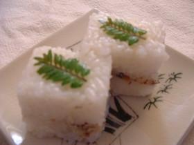 春の香り♪鯖の押し寿司