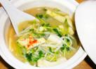 土鍋で☆味噌汁3