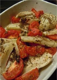 フェンネルとトマトのオーブン焼き