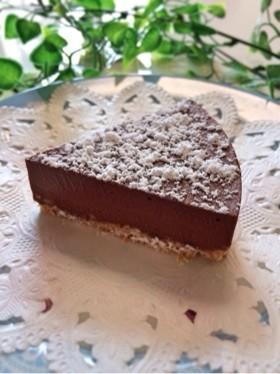 簡単なのに本格的に見える*生チョコケーキ