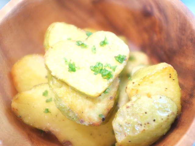 宇宙芋のバターソテー
