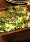 少し余ったポテチで、サラダ!!