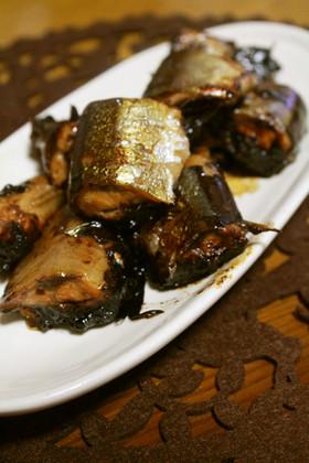 旬を味わおう♬圧力鍋で秋刀魚の甘露煮♡