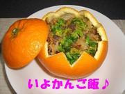 想像を超えるおいしさ☆いよかんご飯☆の写真