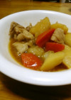 豚とじゃが芋とにんじんの和風煮