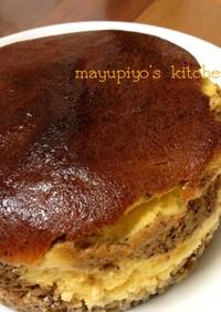 kiri2個で♡ティラミス風チーズケーキ