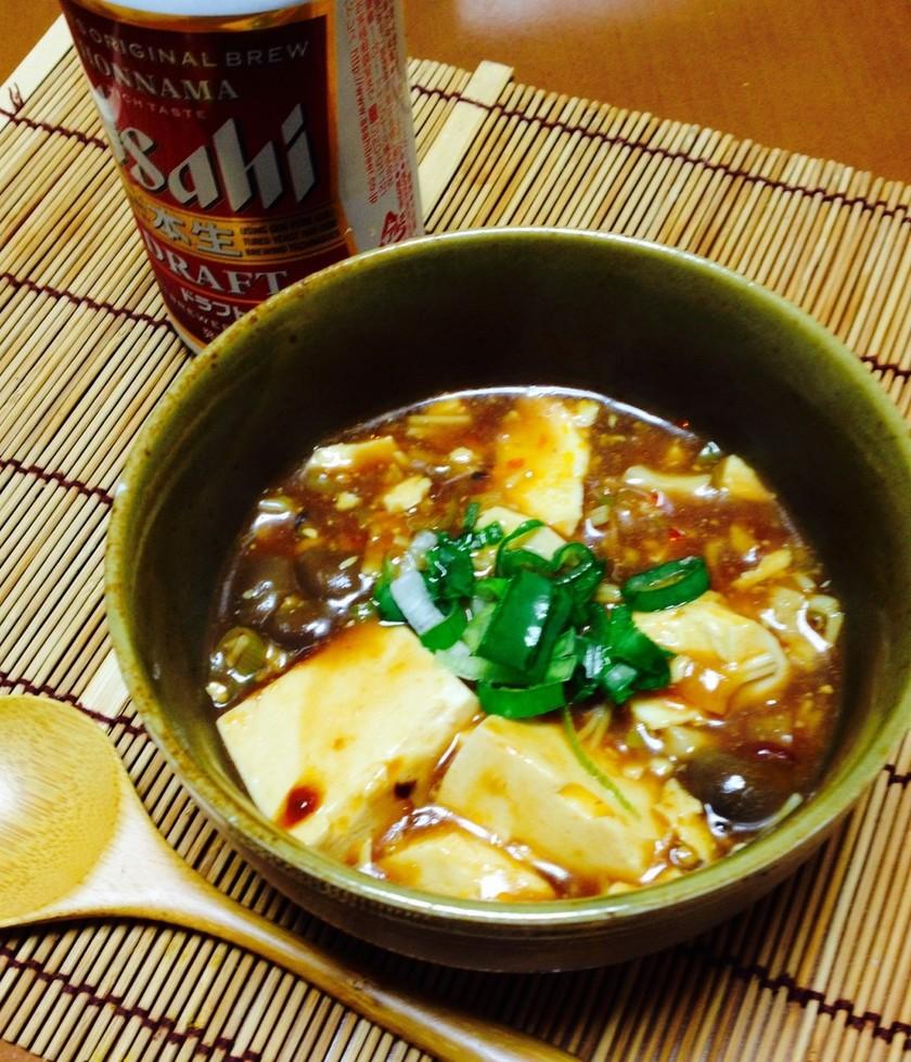 きのこ麻婆豆腐