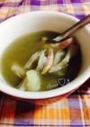 玉ねぎペースト☆②舞茸のスープ