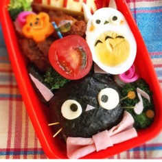 魔女の宅急便♪黒猫ジジ★キャラ弁