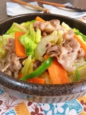 味噌ちゃんぽん野菜炒め✜