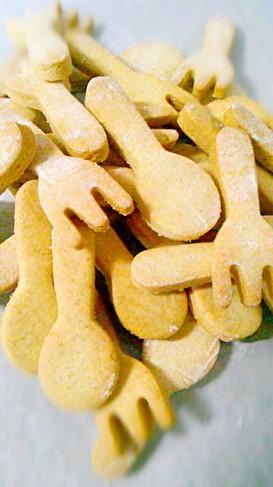 ヘルシーな固いクッキー♪
