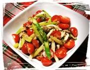 アスパラ&トマトの絶品☆サラダの写真