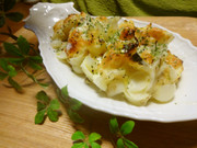 簡単♪おつまみ百合根のチーズ焼きの写真